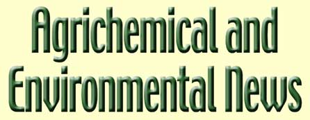Agrichemical & Environmental News masthead